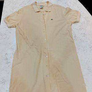 Lacoste Shirt Dress